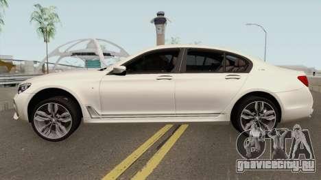 BMW M760Li xDrive 2017 для GTA San Andreas