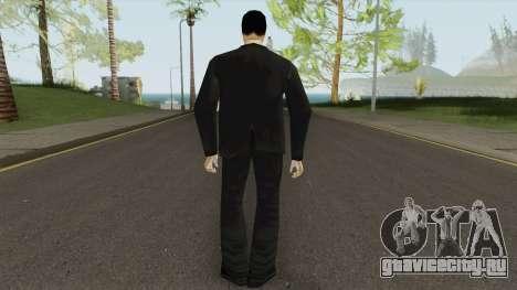 Leone Mafia (GTA III) Without Glasses для GTA San Andreas