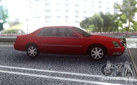 Cadillac DTS 2008 для GTA San Andreas
