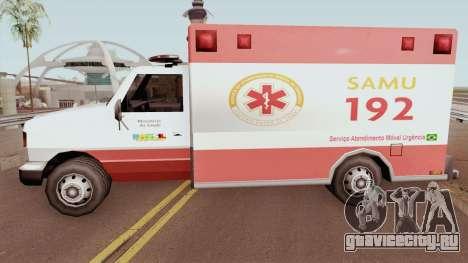 Ambulance TCGTABR для GTA San Andreas