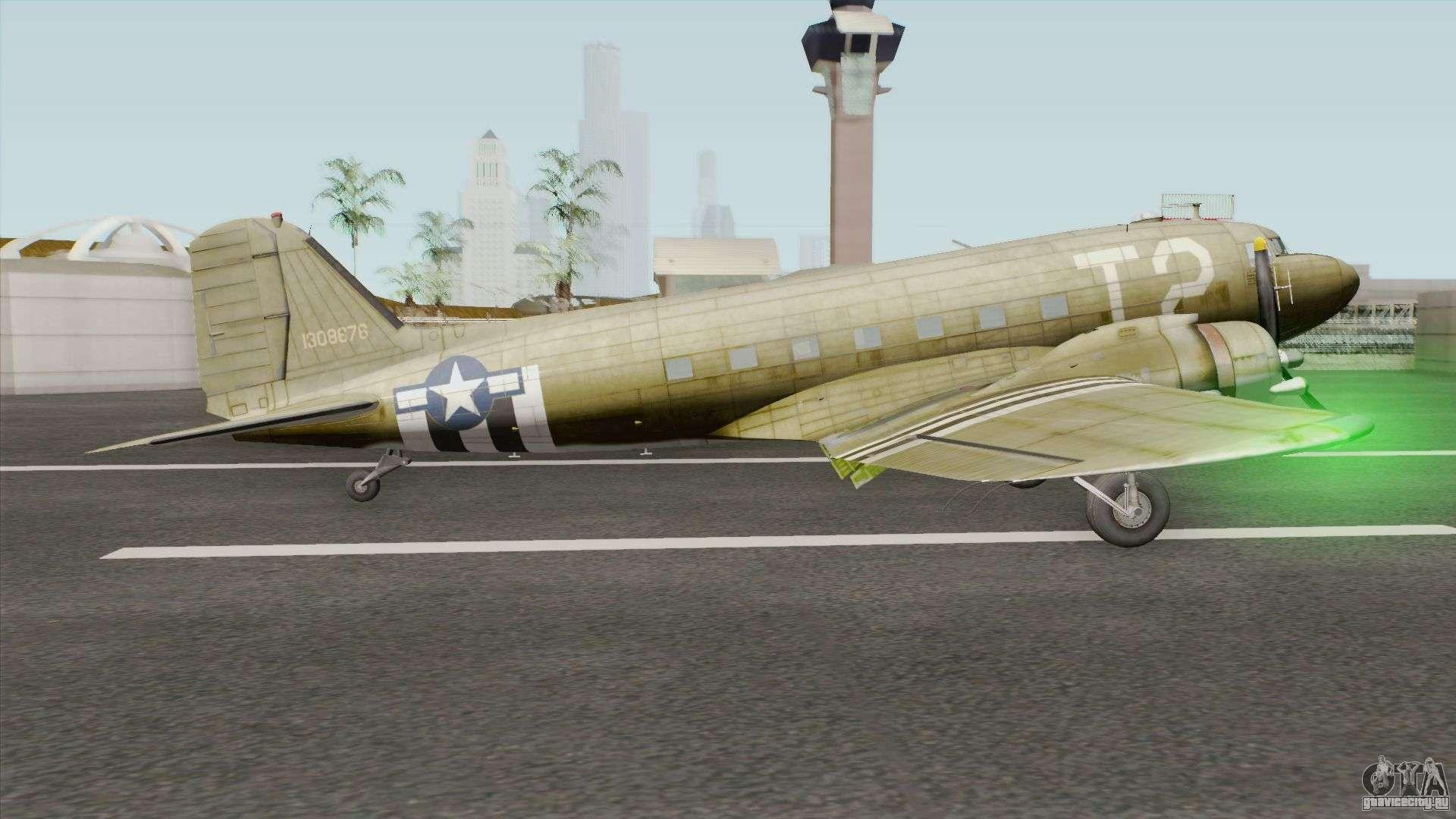 Обои Дуглас c-47, американский. Авиация foto 15