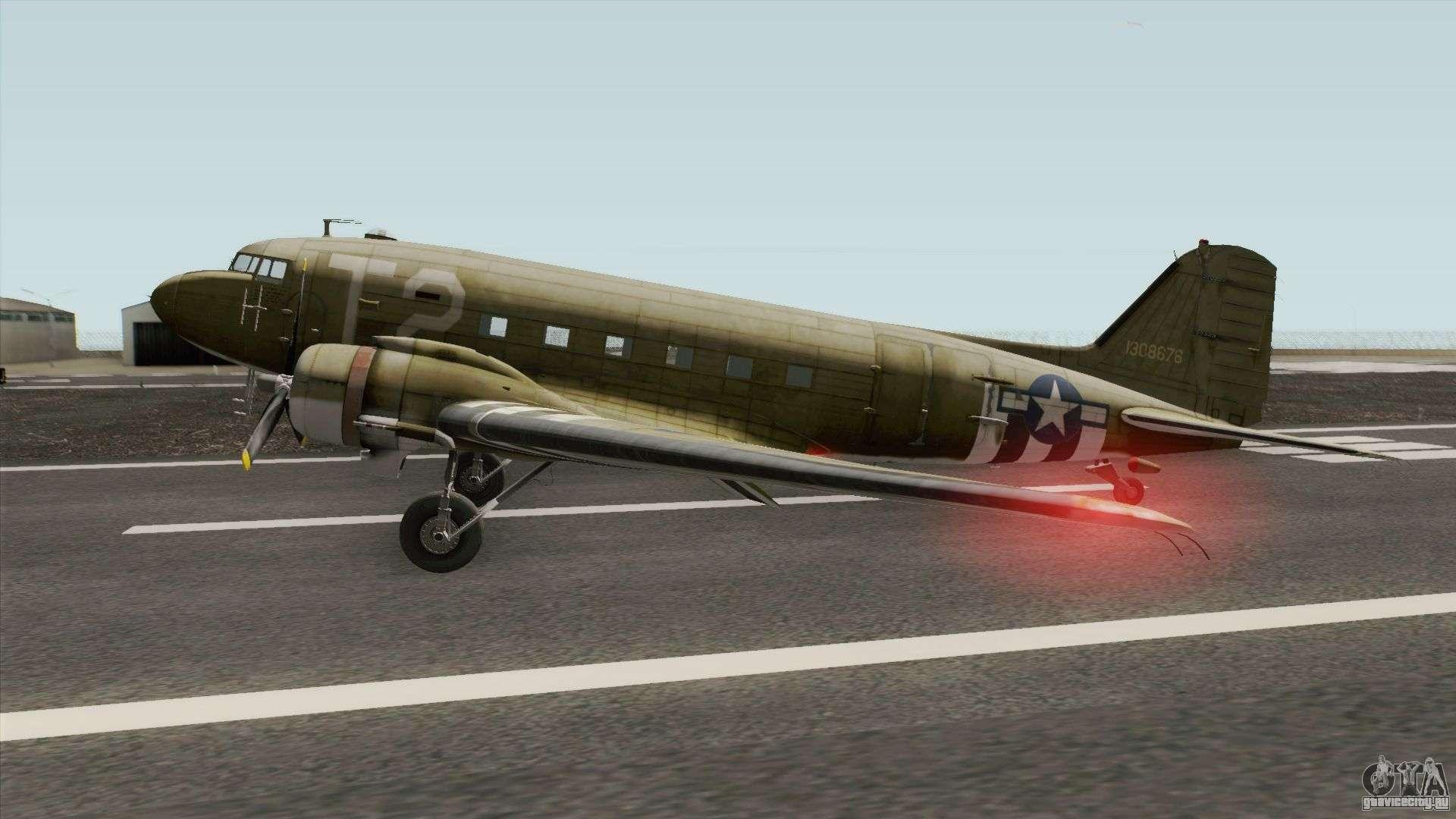 Обои Дуглас c-47, американский. Авиация foto 16