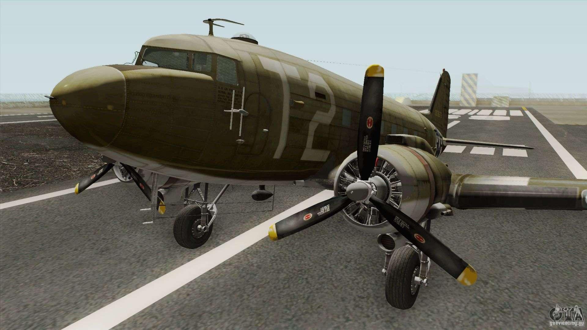 Обои Дуглас c-47, американский. Авиация foto 18