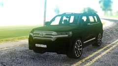 Toyota Land Cruiser Black для GTA San Andreas