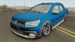 Volkswagen Saveiro Cross Pickup Low для GTA San Andreas