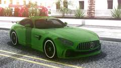 Mercedes-Benz AMG GT R 2017 Green для GTA San Andreas