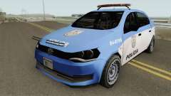 Volkswagen Voyage G6 Policia RJ для GTA San Andreas