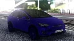 Tesla Model X Blue для GTA San Andreas