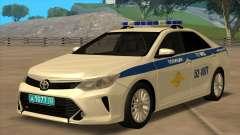Toyota Camry 2015 Рестайлинг ГУ МВД для GTA San Andreas