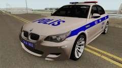 BMW M5 E60 Turk Polis Arabası для GTA San Andreas