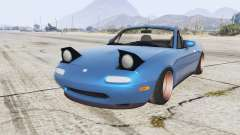 Mazda MX-5 stance v1.1 [replace] для GTA 5