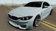 BMW M4 2014 SlowDesign (Black Wheels) для GTA San Andreas