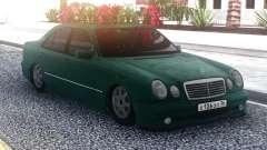 Mercedes-Benz E55 Green Sedan для GTA San Andreas