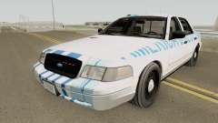 Ford Crown Victoria 2011 Slicktop SASP RCPM для GTA San Andreas