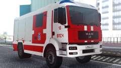 MAN TGA Пожарный для GTA San Andreas