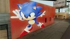 Sonic Wall Mod для GTA San Andreas