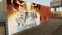 Naruto Shippuden Wall для GTA San Andreas