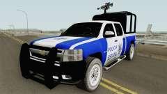 Chevrolet Silverado Policia Estatal Tamaulipas для GTA San Andreas