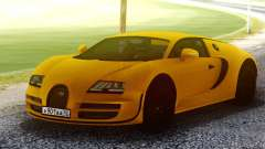 Bugatti Veyron Yellow для GTA San Andreas