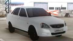 Lada Priora White для GTA San Andreas