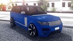 Range Rover Vogue L405 Startech Blue для GTA San Andreas