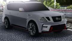 Nissan Patrol Nismo White для GTA San Andreas
