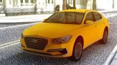 Hyundai Azera 2018 Yellow для GTA San Andreas