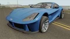 Grotti Itali GTO GTA V HQ для GTA San Andreas