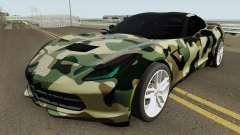 Chevrolet Corvette C7 (Army Style)
