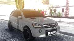 Mercedes-Benz ML 63 AMG Stock для GTA San Andreas
