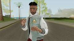 Skin Random 124 (Outfit XXXTenatcion) для GTA San Andreas