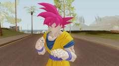 Goku SSJ God для GTA San Andreas