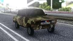 ВАЗ 2107 Летний Камуфляж для GTA San Andreas