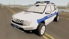 Dacia Duster Serbian Police для GTA San Andreas