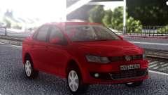 Volkswagen Polo Red для GTA San Andreas