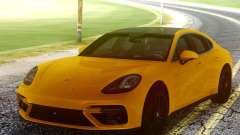 Porsche Panamera Yellow для GTA San Andreas
