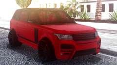 Range Rover Vogue L405 Startech Red для GTA San Andreas