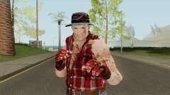 Cliff Hudson from Dead Rising для GTA San Andreas