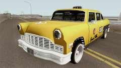 Cabbie Remasterizado для GTA San Andreas