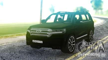 Toyota Land Cruiser Black для GTA San Andreas