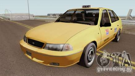 Daewoo Cielo Taxi Colombiano для GTA San Andreas