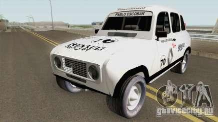 Renault 4 Rally of Pablo Escobar Series для GTA San Andreas