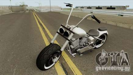 Western Motorcycle Zombie Chopper GTA V для GTA San Andreas