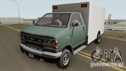 Brute BoxCar GTA V для GTA San Andreas