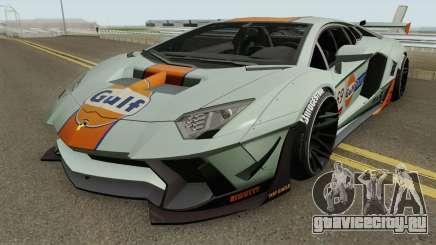 Lamborghini Aventador LP700-4 Liberty Walk 2011 для GTA San Andreas