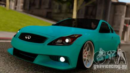Infiniti G37 Classic Coupe для GTA San Andreas