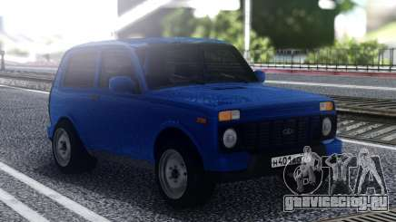 Niva Urban Blue для GTA San Andreas