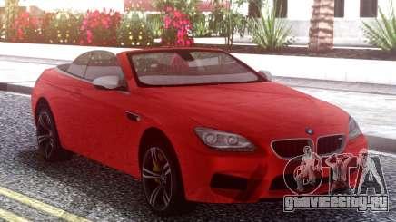 BMW M6 F12 Red для GTA San Andreas
