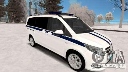 Mercedes Benz Vito Полиция для GTA San Andreas