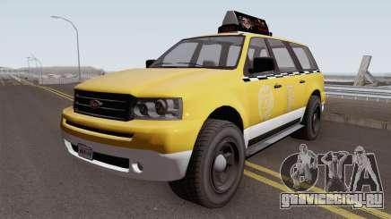 Vapid Prospector Taxi V2 GTA V IVF для GTA San Andreas